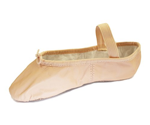 Bloch 209 Arise Leather Ballet Shoe, Full Sole,Pink ,2 C UK (35 EU) from Bloch