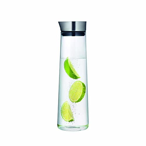 blomus 33.81 oz Stainless Steel/ Glass Acqua Water Carafe from blomus