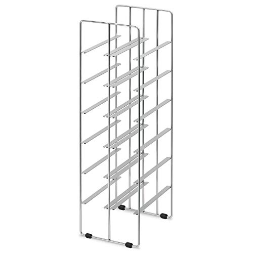 Blomus 68486 Pilare Wine Shelf for 12 Bottles from Blomus