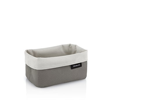 blomus Reversable Storage basket, sm, sand-taupe, Synthetic fibre, H 7 cm, B 9 cm, T 14 cm from Blomus