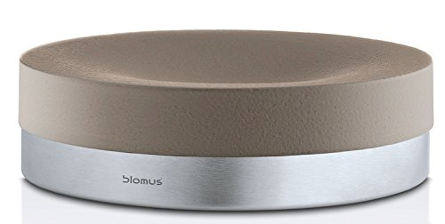 Blomus Tray/Soap dish, taupe, Stainless-Steel, 12 cm x 12cm x 3.5cm from blomus