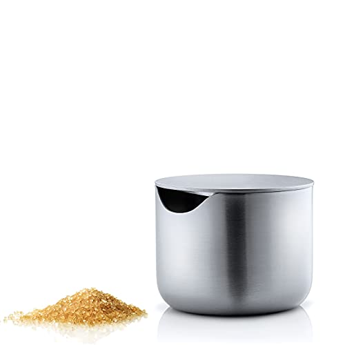 blomus Basic Sugar Bowl with stainlerss Steel lid, Silver from blomus
