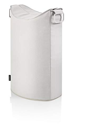 blomus Frisco Laundry Bin, Fabric, Beige from Blomus