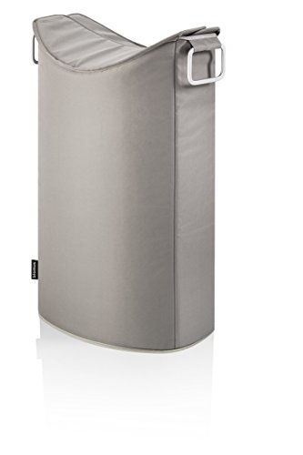 blomus Frisco Laundry Bin, Fabric, Taupe from Blomus