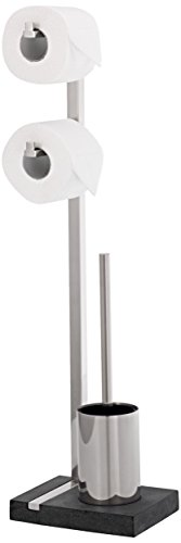 Blomus Menoto 68623 Toilet Butler Toilet Roll Holder and Toilet Brush from blomus