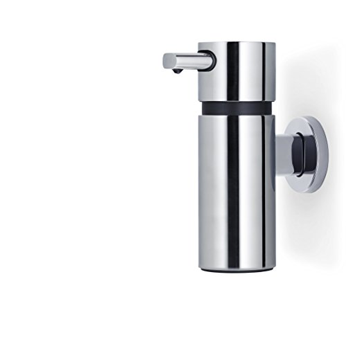 blomus AREO Polished Wall-Mounted Soap Dispenser, 220 ml, Stainless_Steel from blomus