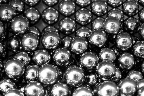 Steel Ball Bearings x 200 9.5mm 3/8 Diameter BB by BloodShot from BloodShot