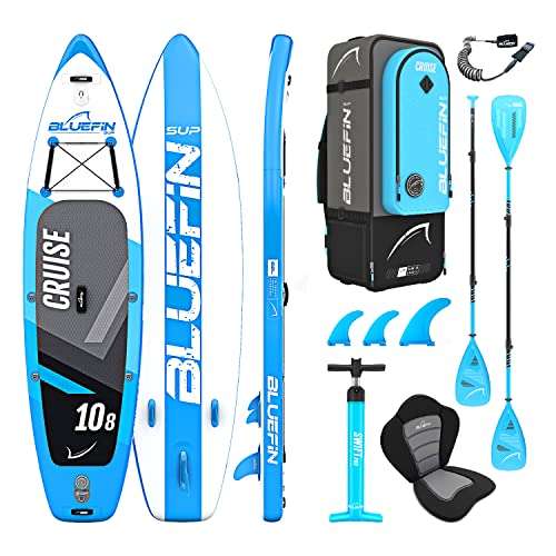 "Bluefin Stand Up Inflatable Paddle Board iSUP 10'8"" 327 cm x 15.2 cm SUP Bundle from Bluefin"