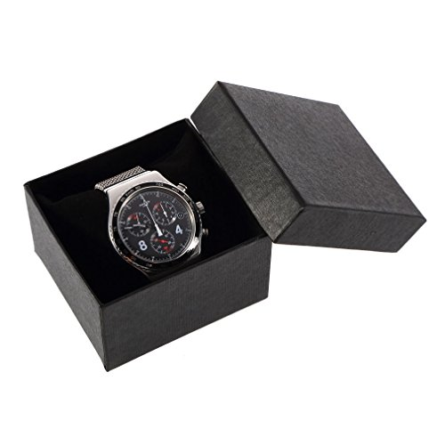 Bluelans® Plain Wacth Gift Box Bracelet Bangle Gift Case Wrist Watch Box Jewelry Boxes (Black) from Bluelans