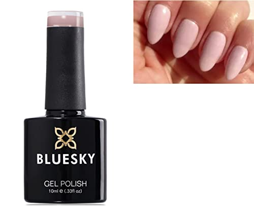 Bluesky QXG Naked Nude Collection Nail Gel Polish UV LED Soak Off 10ml (QXG210 Lace) from Bluesky