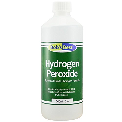 Food Grade Hydrogen Peroxide 3% - 500ml from Bob's Best