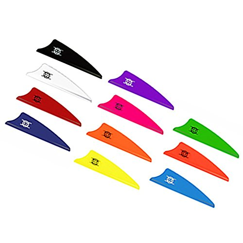 "Bohning Archery Vanes X-Shield 1.75"", Pack of 12 (neon green) from Bohning"