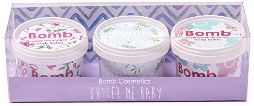 Bomb Cosmetics Butter Me Baby Handmade Potted Gift Pack from Bomb Cosmetics