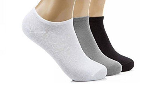 12 Pairs Mens Sport Performance Trainer Low cut Socks - Size 6-11 (Assorted) from Bonjour