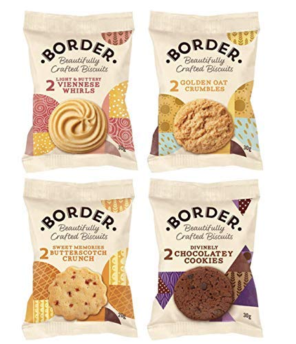 Border Biscuits Luxury Mini Packs - 1 x 48s from Border