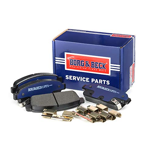 Borg & Beck BBP2214 Rear Brake Pads - Includes Wear Indicators/Leads (Bosch) from Borg & Beck