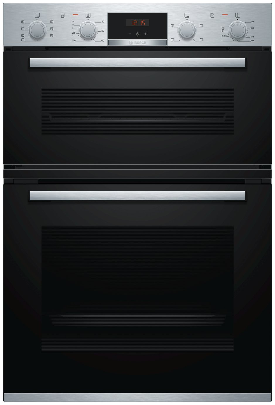Bosch MBS533BS0B 59.4cm Double Electric Cooker - S/ Steel from Bosch