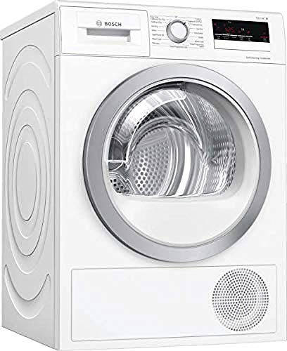 Bosch WTW85231GB 8kg Heat Pump Tumble Dryer - White from Bosch