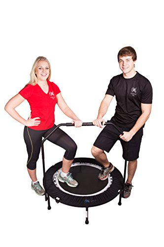 Bounce & Burn Mini Trampoline – Best seller - FREE 3 MONTHS VIDEO MEMBERSHIP Affordable & FUN way to lose weight and get FIT! Includes DVD. from Bounce & Burn