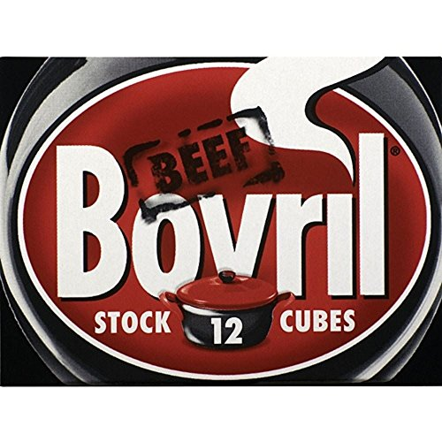 Bovril Stock Cubes Beef (12x10g) from Bovril