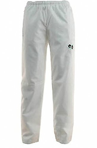 Bowling Trousers Waterproof White Bowls Logo Outdoor Lawn Pants Bottoms from Bowls