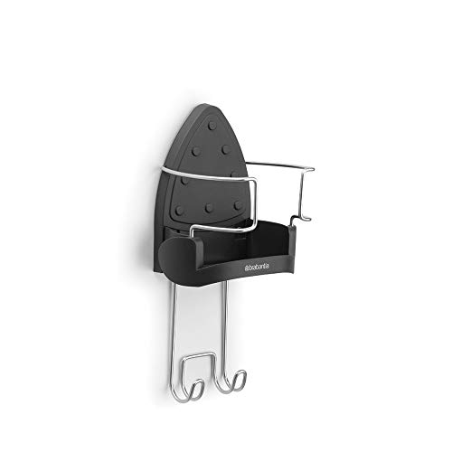 Brabantia Ironing Board Hanger and Iron Store - Black from Brabantia
