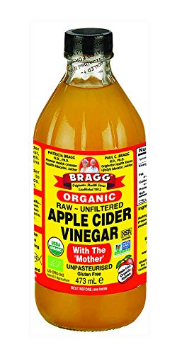 Braggs Apple Cider Vinegar With The Mother, 473ml (Pack of 2) from Bragg