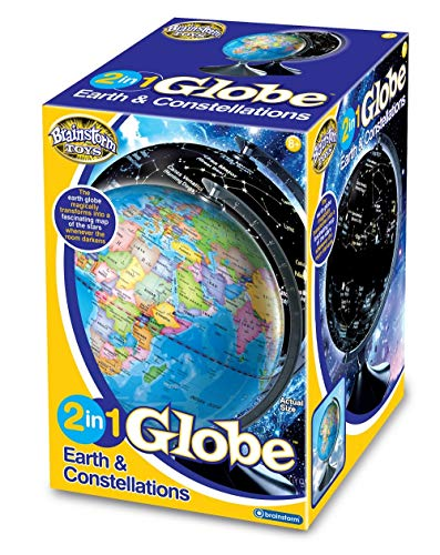 Brainstorm Toys E2001 Light Up 2 in 1 Globe Earth & Constellations from Brainstorm Toys