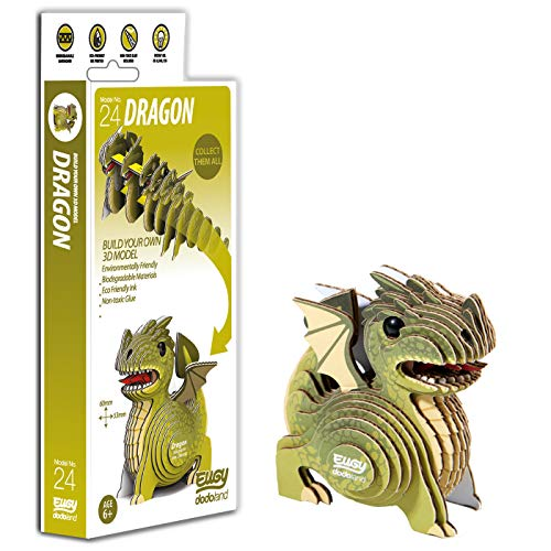 Brainstorm Toys D5007 EUGY Dragon 3D Craft Kit, from Brainstorm Toys