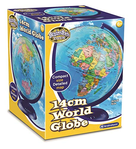Brainstorm Toys 14cm Children's World Globe from Brainstorm Toys