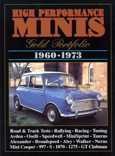 High Performance Minis Gold Portfolio 1960-1973 (Brooklands Books Road Tests Series) from Brand: Brooklands Books