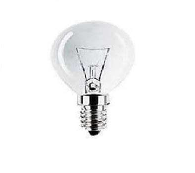 1x 40W Clear Golf Ball Bulb (SES Base) 240V - from Branded