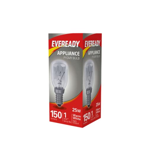 1x Eveready 25W Pygmy Bulb Appliance Lamp SES(E14) - from Branded