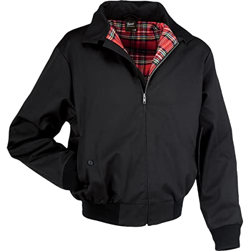 Brandit Lord Canterbury Bomber Jacket Black S from Brandit
