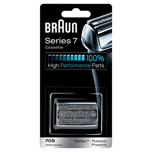 Braun Shaver Replacement Part 70S Silver, Compatible with Series 7 Shavers from Braun