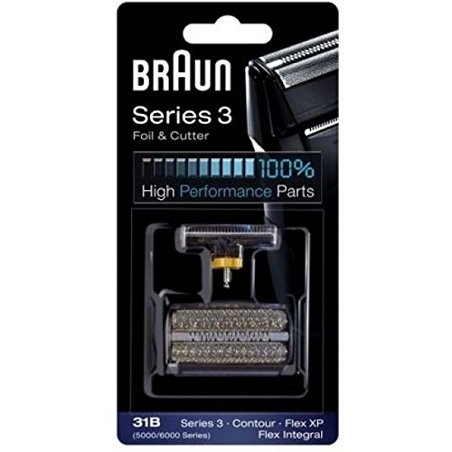 Braun Foil and Cutter for Series 3/5000 Series/Contour/Flex Integral from Braun
