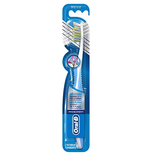 Oral-B Pro-Expert CrossAction Anti-Plaque 35 Medium Toothbrush - Pk of 4 from Braun