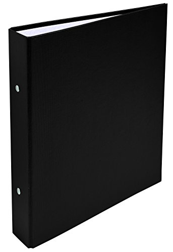 Exacompta PP covered Ring Binder, A5, 2 Rings, 40 mm spine - Black from Exacompta