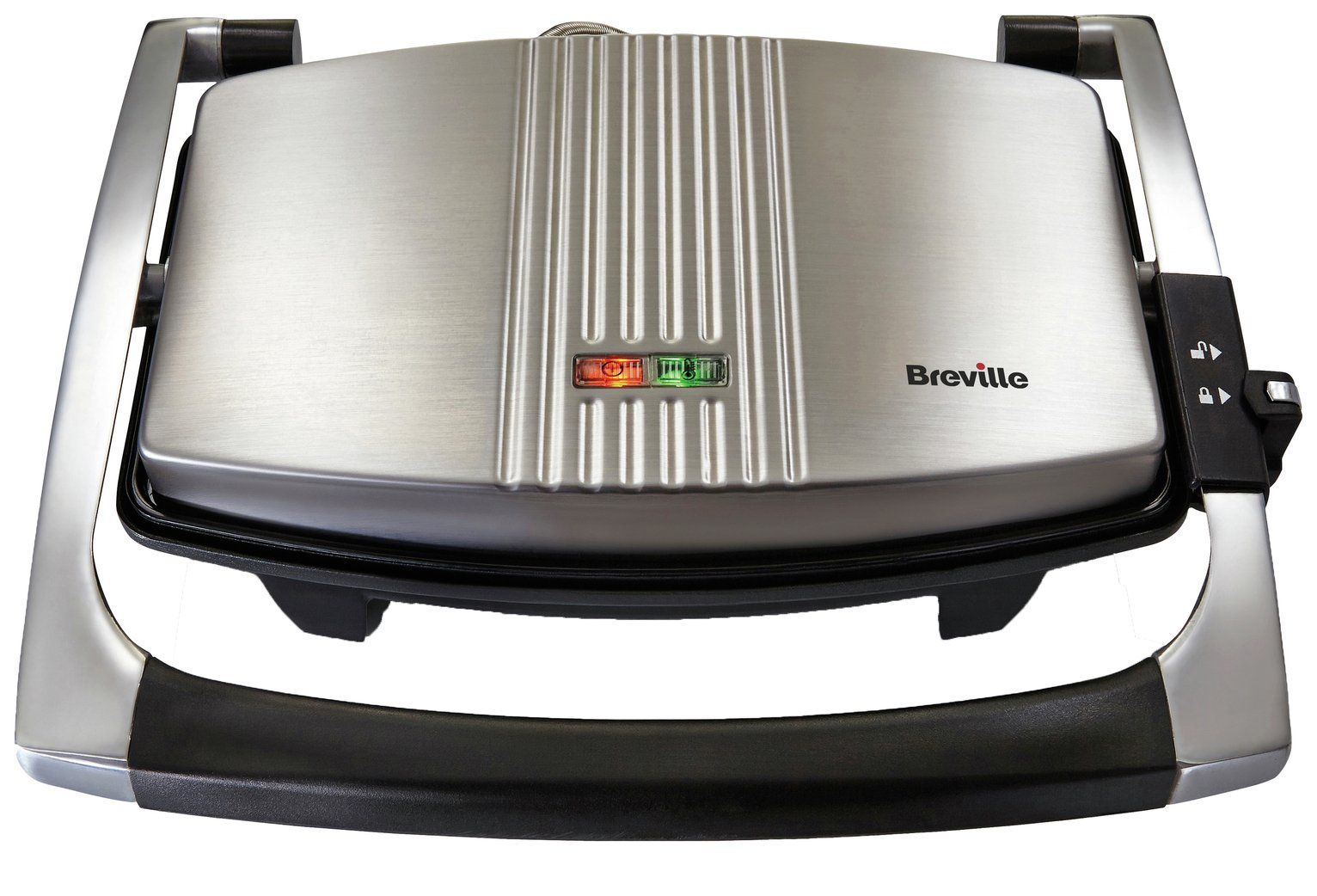 Breville - Toaster - VST025 - 3 Slice Sandwich Press - Stainless Steel from Breville