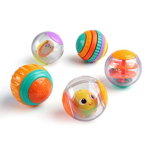 Bright Starts Shake & Spin Activity Balls from Bright Starts