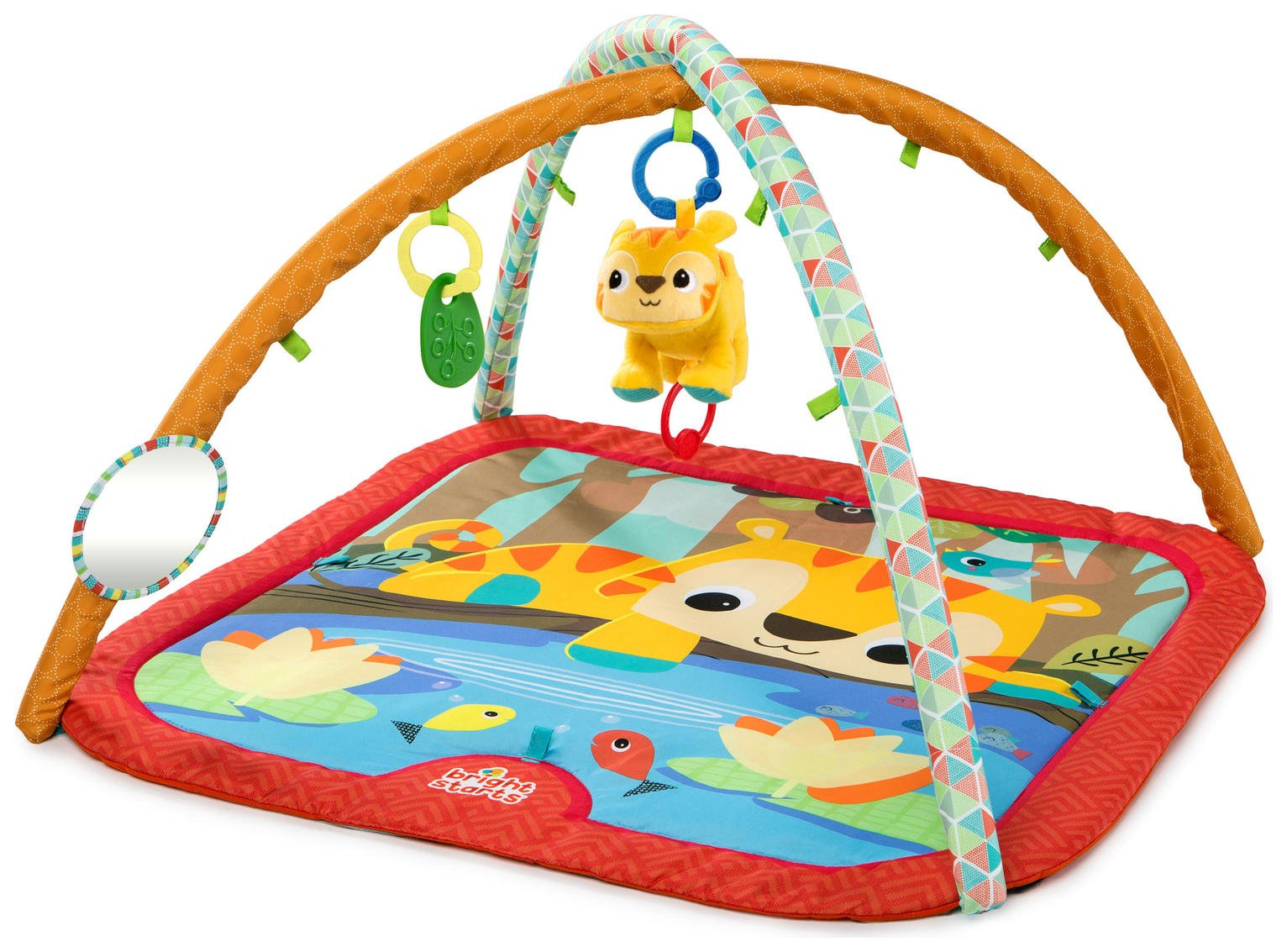 Bright Starts Pal Around Jungle Activity Gym. from Bright Starts