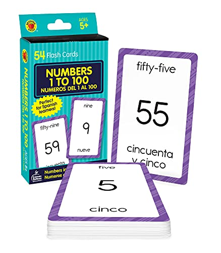 Numbers 1 To 100/Numeros del 1 al 100 from Brighter Child