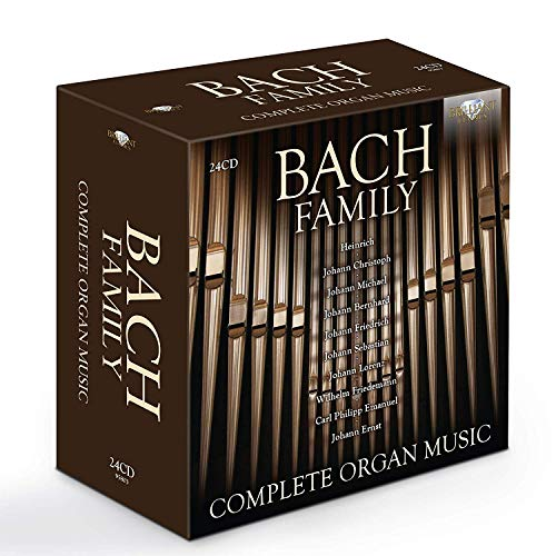 BACH FAMILY: Complete Organ Music from BRILLIANT CLASSICS