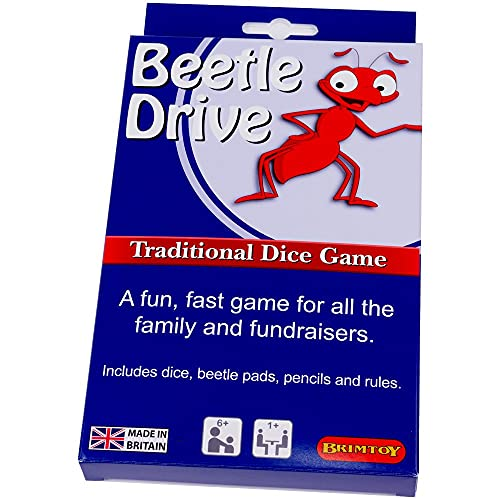Brimtoy  Beetle Drive Traditional Dice Game from Brimtoy