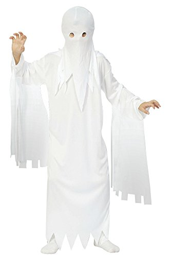 Bristol Novelty CC568 Ghost Child Costume, Medium, 122 - 134 cm, Approx Age 5 - 7 Years, Ghost Child Costume (M) from Bristol Novelty