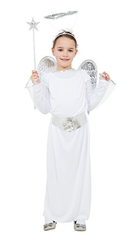 Bristol Novelty CC344 Angel Budget Child's Costume (Large) from Bristol Novelty