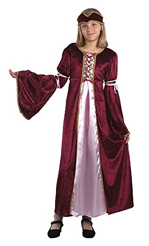 Bristol Novelty Renaissance Princess Costume (L) Childs Age 7 - 9 Years from Bristol Novelty