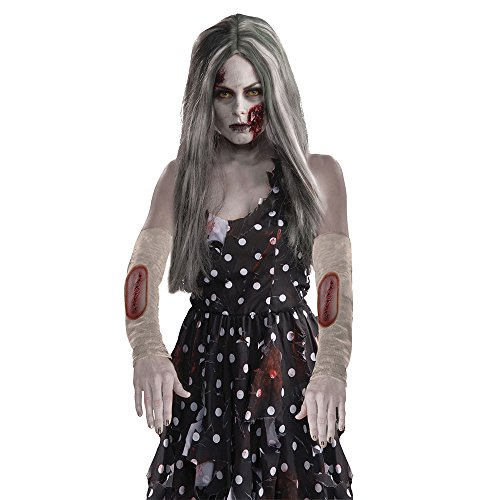 Bristol Novelty BA2818 Zombie Arm Sleeves for Fancy Dress, Unisex-Adult, One Size from Bristol Novelty