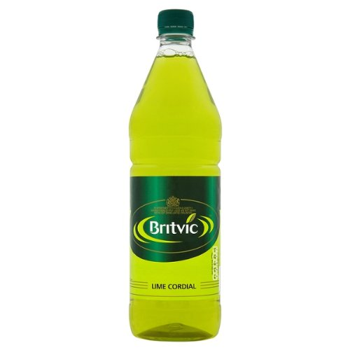 Britvic Lime Cordial 1 Litre (Pack of 12 x 1ltr) from Britvic