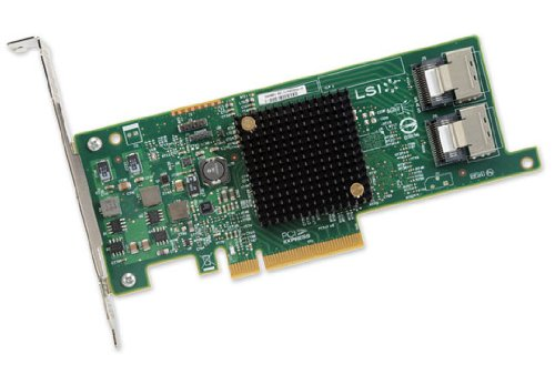 Broadcom 8 Port 6Gbps SAS 9207-8i SGL PCI-E Host Bus Adaptor from Broadcom